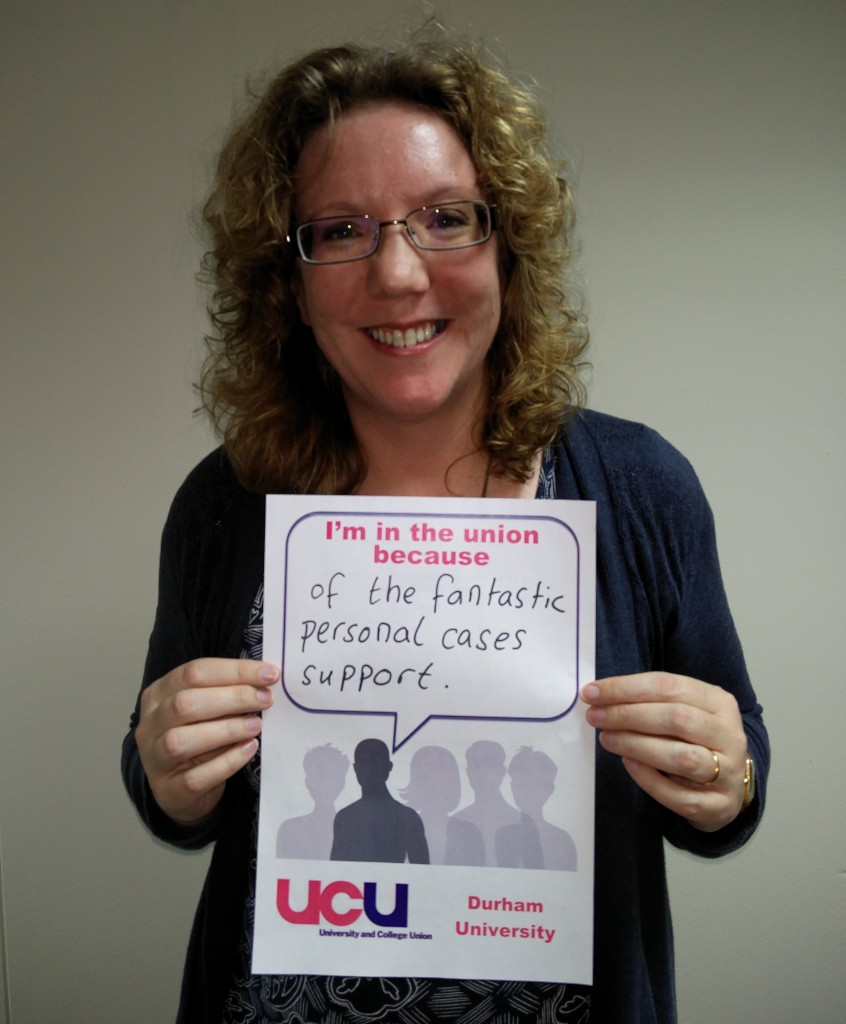 UCU photo Karen Jones