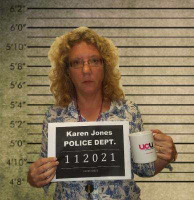 mugshot Karen