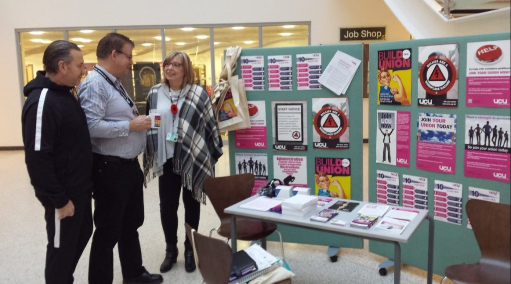 redcar-cleveland-college-stall